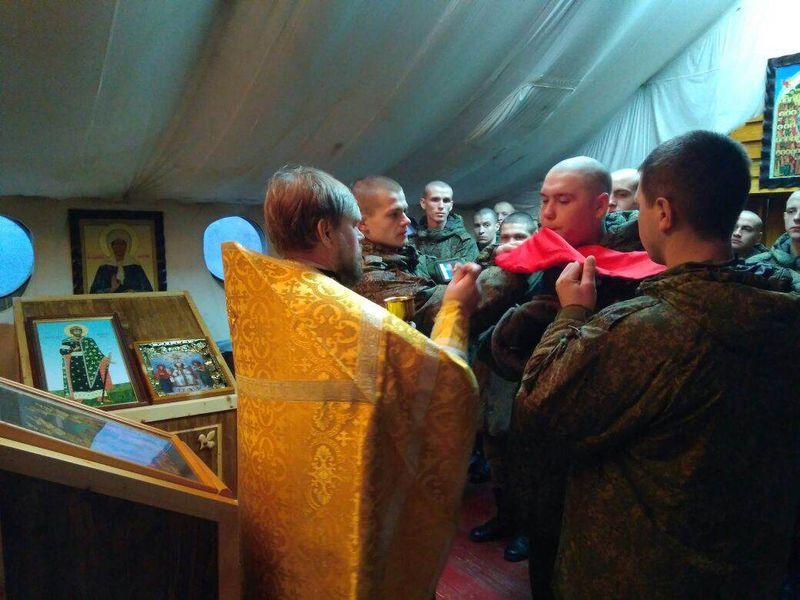 Вместе с военным священником школьники узнают о покровителе русского воинства и непобедимом русском духе