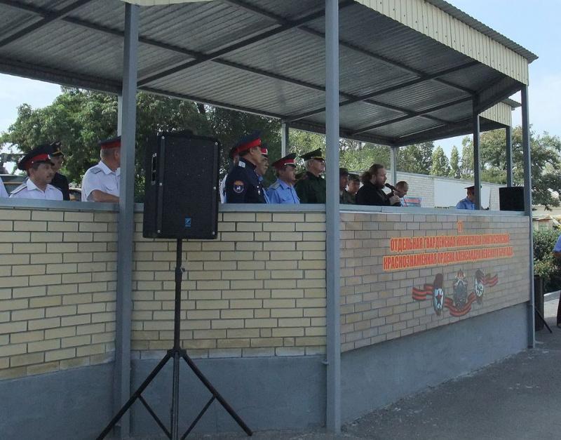 В Каменск-Шахтинском благочинии прошли мероприятия, связанные с возвращением казаков ГКО г. Каменск-Шахтинский с воинской службы