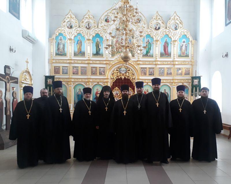 Состоялось собрание духовенства Каменск-Шахтинского церковного округа