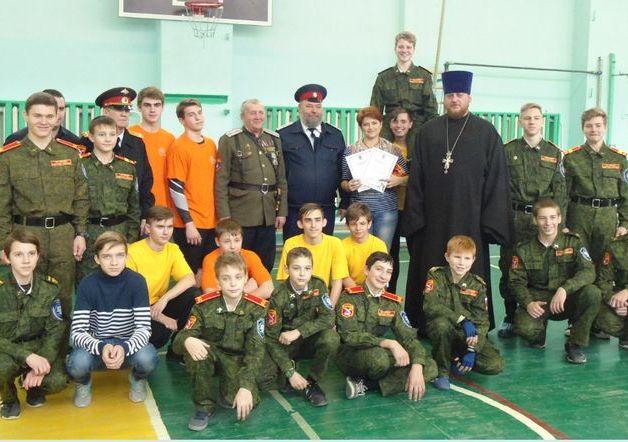 Казачьи спортивные соревнования прошли в г. Каменск-Шахтинский