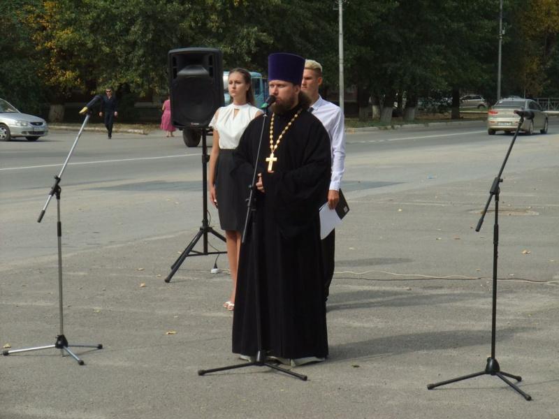 В Каменск-Шахтинском благочинии прошли мероприятия, посвященные Дню солидарности в борьбе с терроризмом