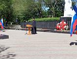 Митинг, посвященный 100-й годовщине образования пограничных войск Российской Федерации прошел в г. Новошахтинске