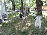 «Там, на неведомых дорожках» – веселый квест для детей с ОВЗ и инвалидов детства провели добровольцы православной школы «Дельфин»