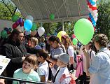 Манычское Пятницкое Архиерейское подворье стало местом проведения юбилейного Пятого открытого фестиваля творчества детей с ограниченными возможностями здоровья «Дети Солнца»